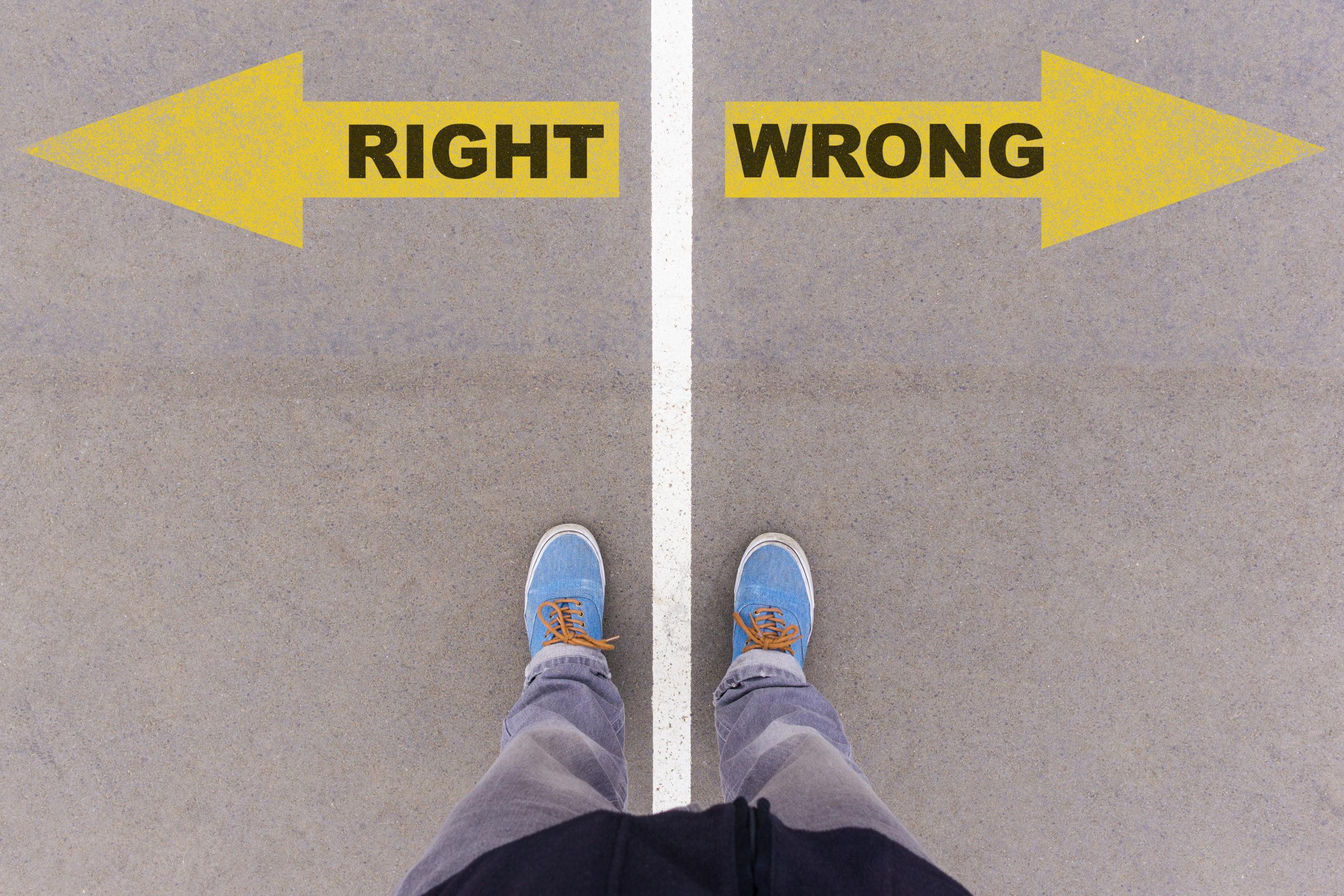 big data use right vs. wrong