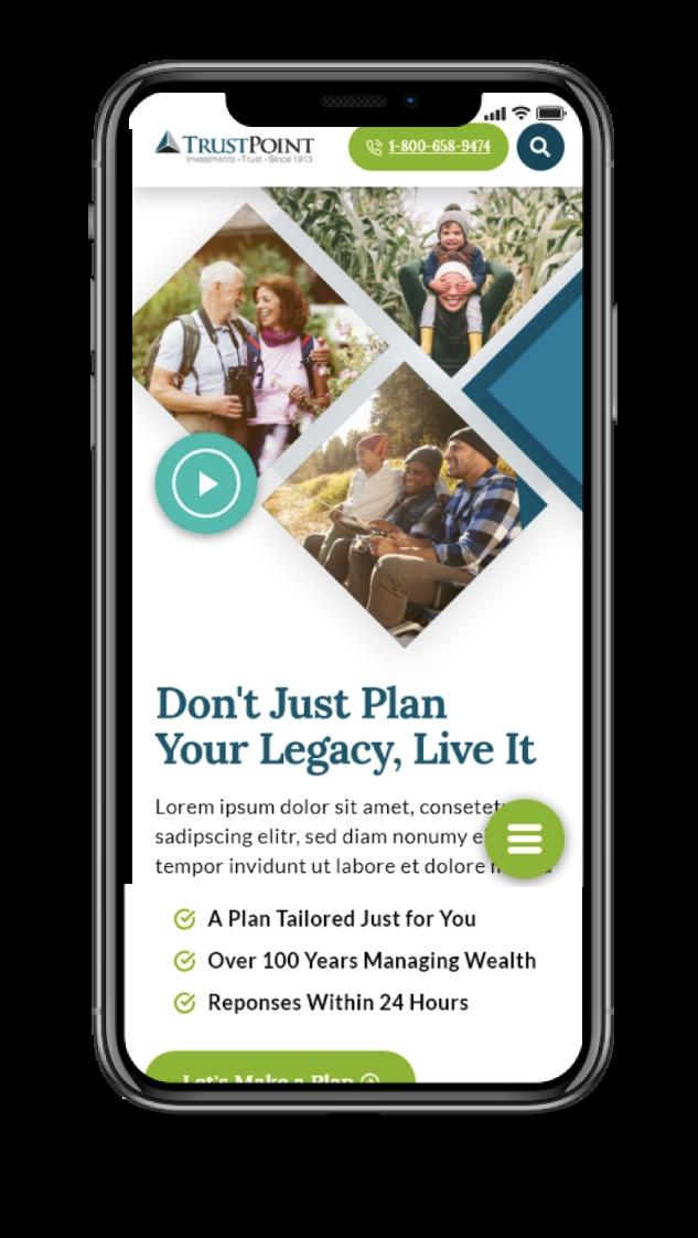 Trust Point Mobile Design