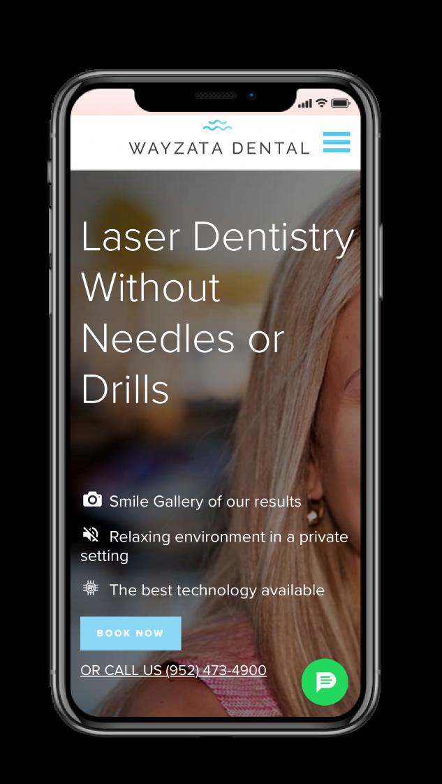 Wayzata Dental - Website Design