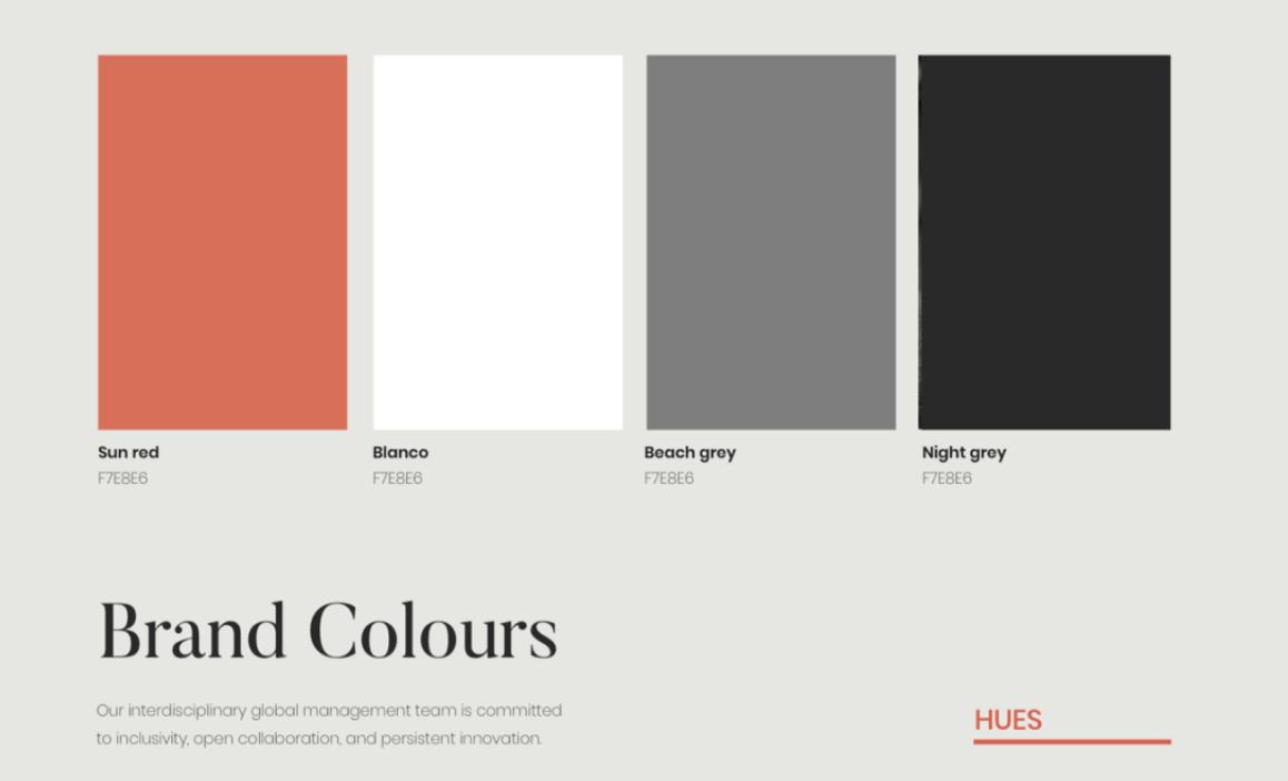 Color Mood Board 2020