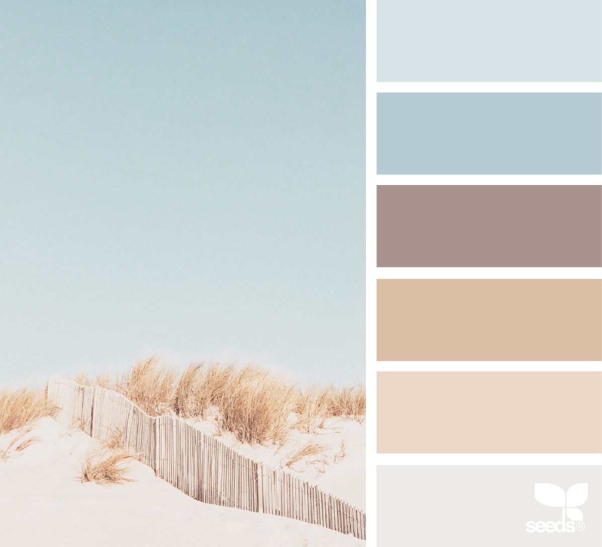 Mental Vacation - Soft color palette 2021