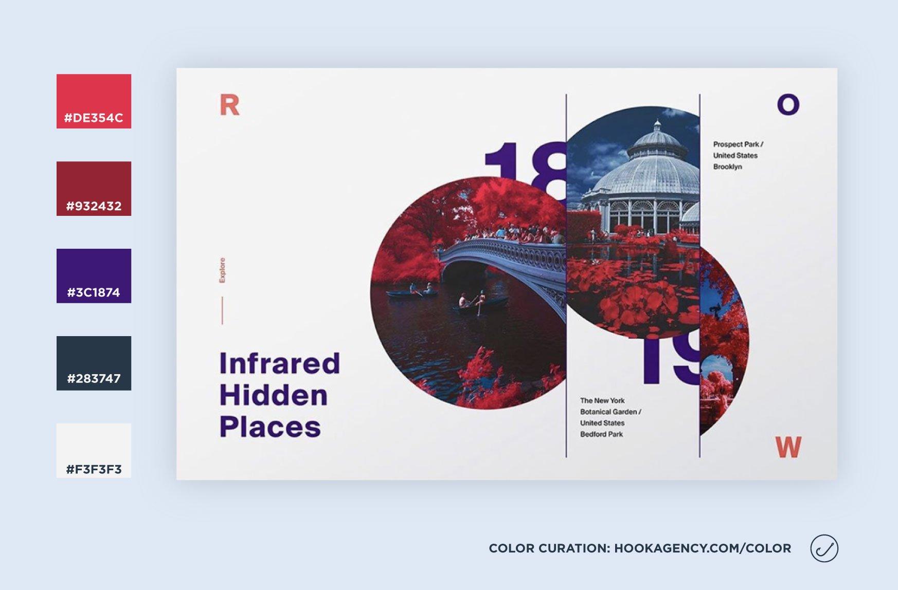 Red and Purple Color Scheme 2021 - Website color schemes inspiration, Dribbble, Pinterest, Behance