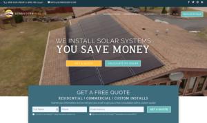 Solar Web Design Inspiration 2020 2021
