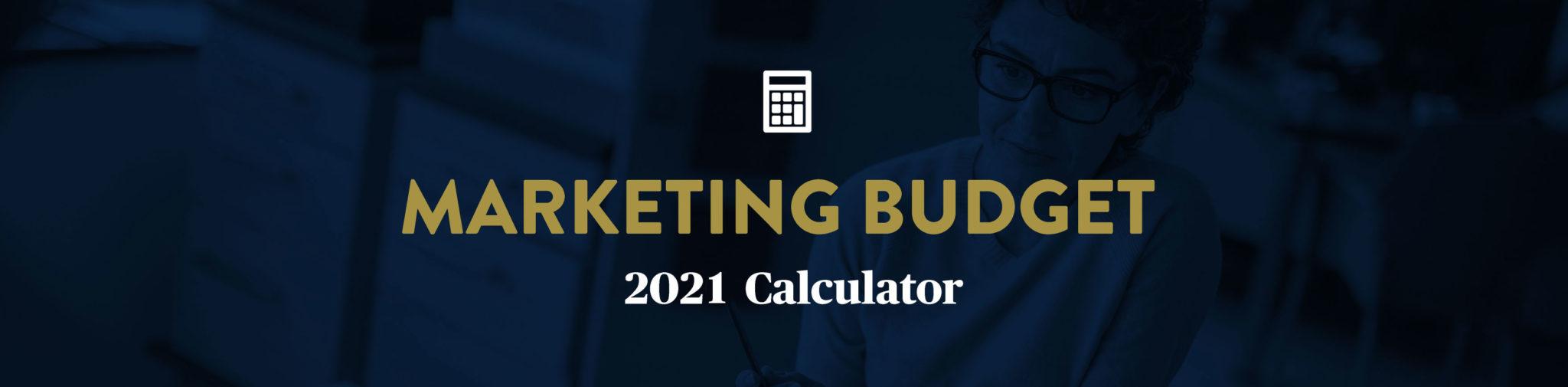 Marketing Budget 2021 Calculator