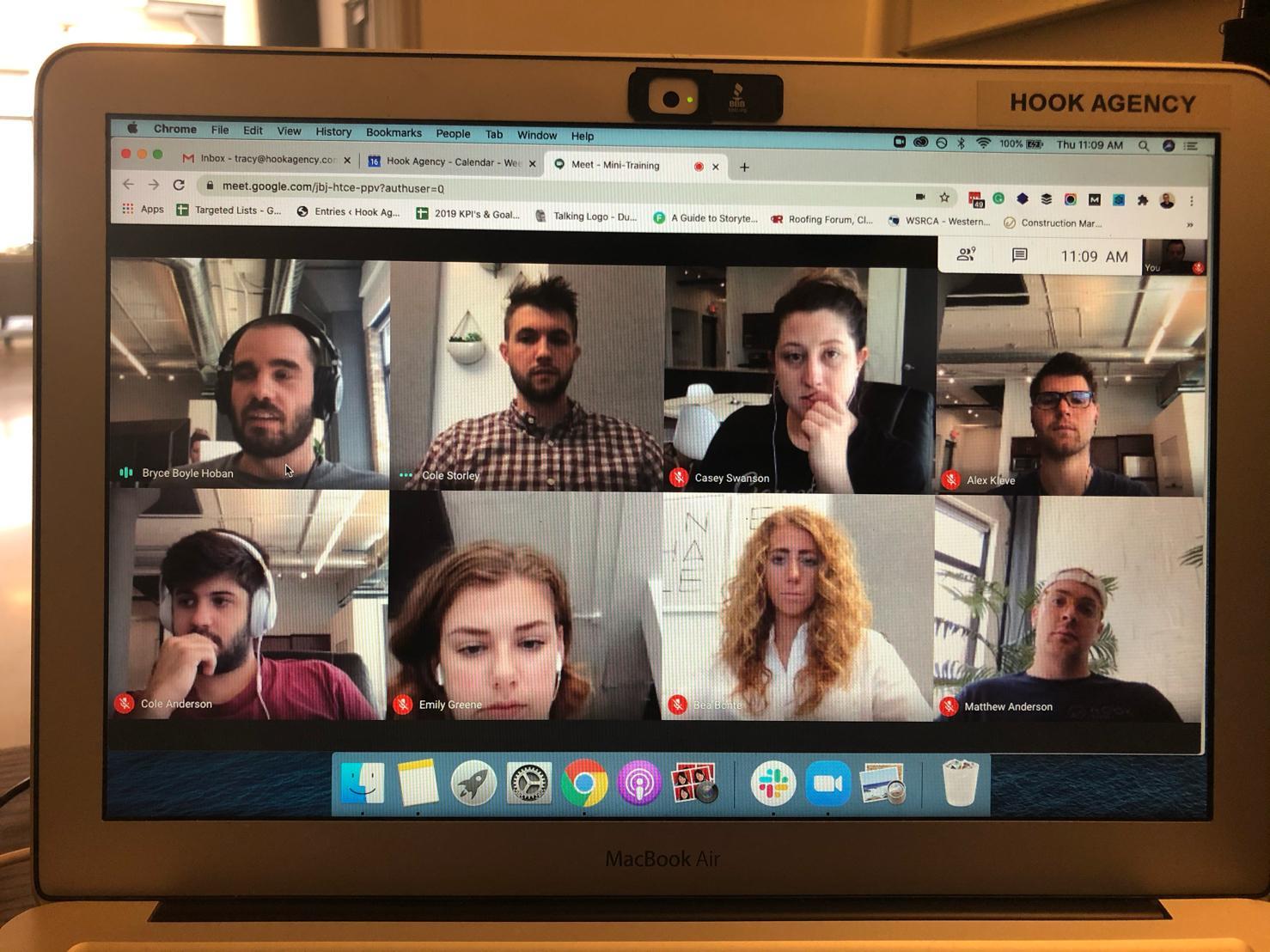 group webinars