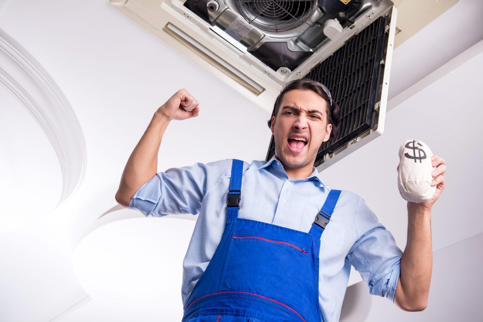 HVAC salary median Average Technician