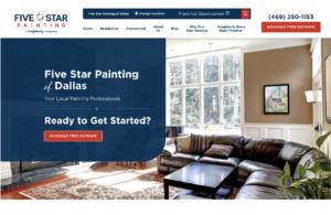 Painting Web Design Inspiration