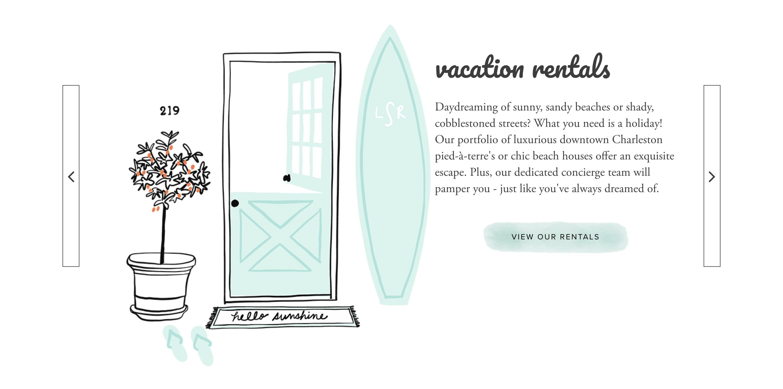 Contractor Illustration Website Design Examples