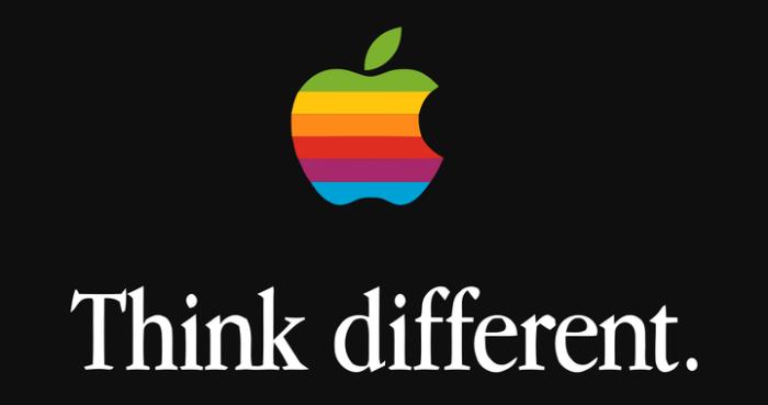 Think Different - Marketing Slogan