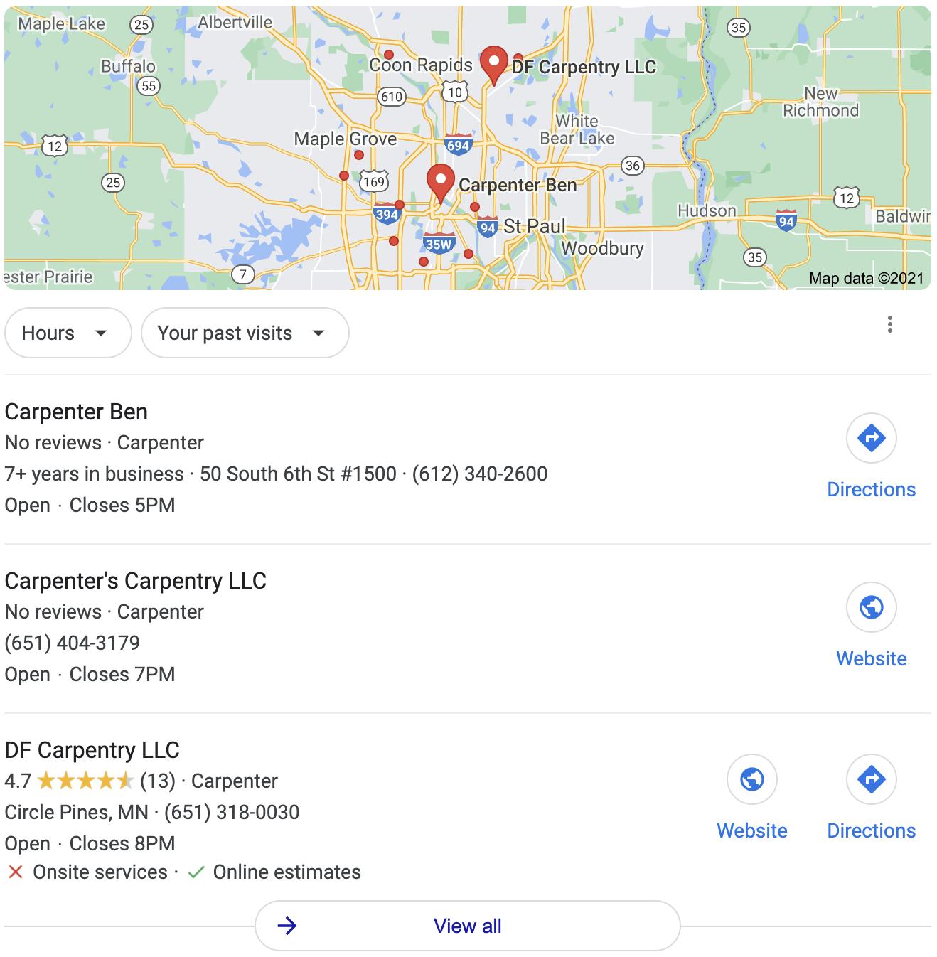 set up google business