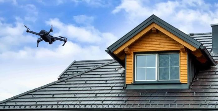 Roof Inspection Drones - Mavic Best roofing drones